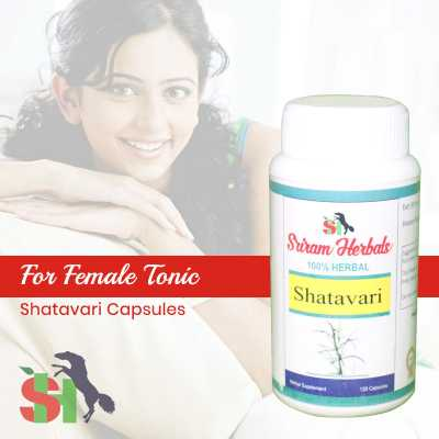 Buy Shatavari Capsules - Woman Energy Online in Bhopal