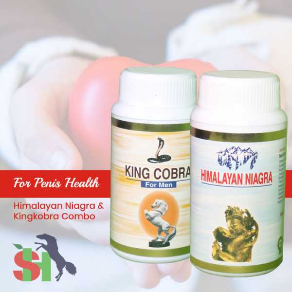 Buy Himalayan Niagra And KingCobra Combo Online in Czech Republic