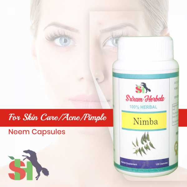 Buy Neem Capsules -  Skin Care Online in India